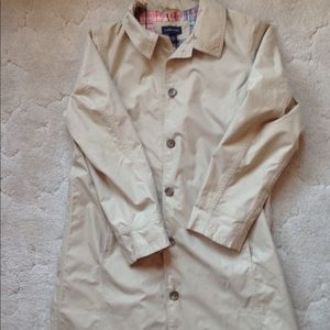 Lands End lightweight trench coat, sz large(14-16)